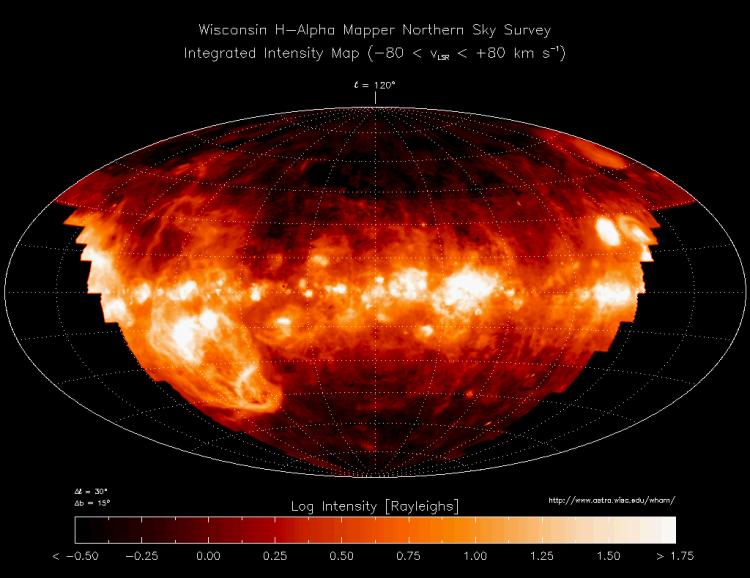 Wisconsin H-Alpha Mapper Northern Sky Survey