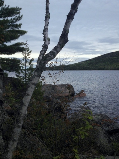 View of Eagle Lake, Acadia.