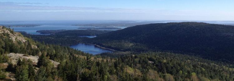 Upper Hadlock Pond, Acadia.