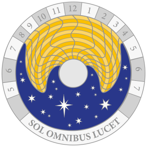 sundial spaced numbers